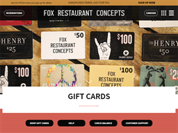 Wildflower American Cuisine gift card purchase