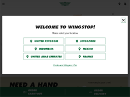 Wingstop shopping