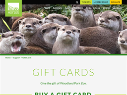 Woodland Park Zoo gift card purchase
