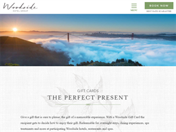 Woodside Hotels gift card purchase