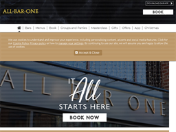 All Bar One shopping
