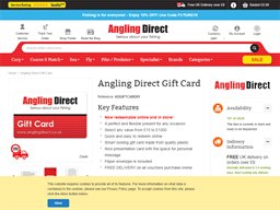 Angling Direct gift card purchase