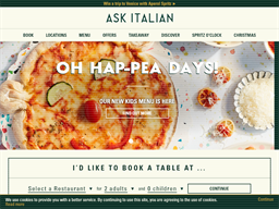 Ask Italian shopping