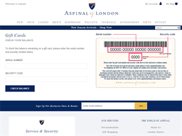Aspinal of London gift card purchase