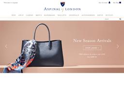Aspinal of London shopping