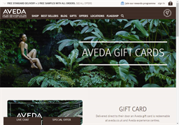 Aveda gift card purchase