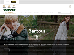 Barbour shopping