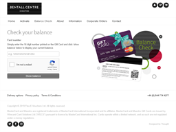 Bentall Centre gift card purchase