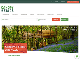 Canopy & Stars gift card purchase