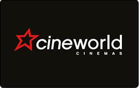 Cineworld gift card design and art work