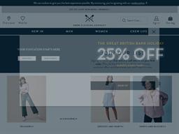 Crew Clothing Company shopping