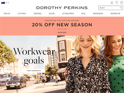 Dorothy Perkins shopping