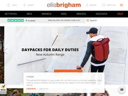 Ellis Brigham shopping