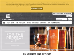 Ember Inns gift card purchase