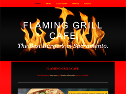 Flaming Grill shopping
