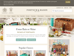 Fortnum & Mason shopping