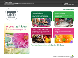Garden Gift Card shopping