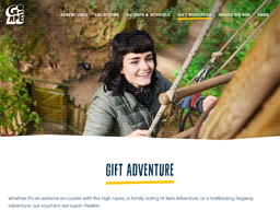 Go Ape gift card purchase