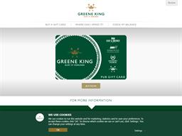 Greene King gift card purchase