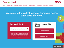 Flex E Card shopping