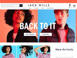 Jack Wills gift card purchase