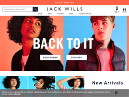 Jack Wills shopping