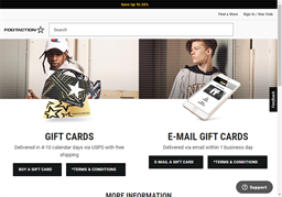 Footaction gift card purchase