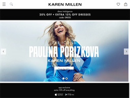 Karen Millen shopping