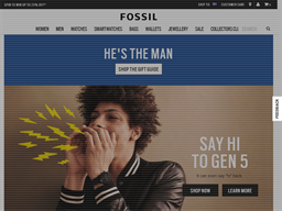 Fossil shopping