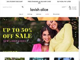Lavish Alice shopping