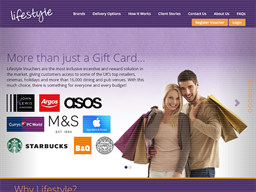 Lifestyle Vouchers shopping