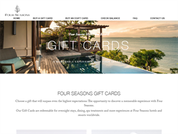 Four Seasons Resort & Spa gift card purchase