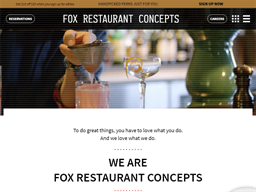 Fox Restaurant Concepts shopping