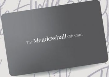 Meadowhall Shopping Centre gift card design and art work