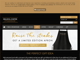 Miller & Carter gift card purchase