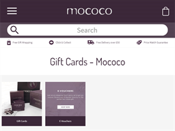 Mococo gift card purchase