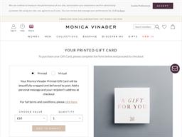 Monica Vinader gift card purchase
