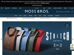 Moss Bros. shopping