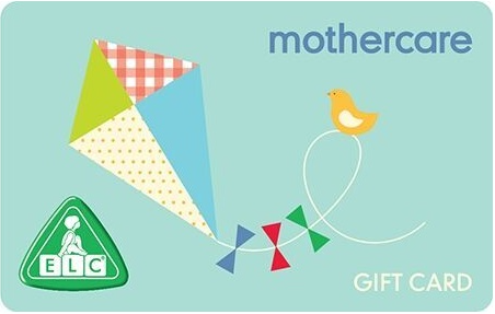 Mothercare gift card design and art work