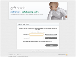 Mothercare Paper Voucher gift card balance check