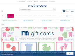 Mothercare Paper Voucher gift card purchase
