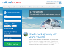 National Express gift card purchase