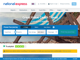 National Express shopping