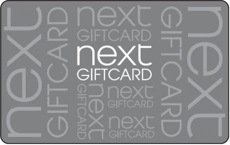 Next gift card design and art work