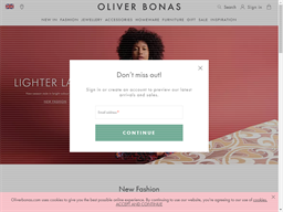 Oliver Bonas shopping