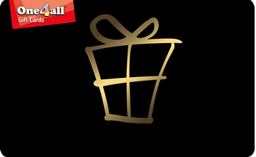 One4all gift card design and art work