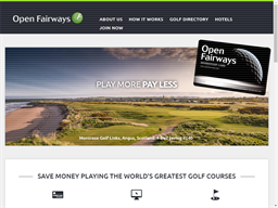 Open Fairways shopping