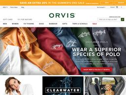 Orvis shopping