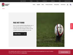England Rugby RFU gift card purchase