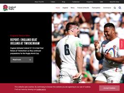 England Rugby RFU shopping